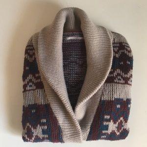 Nordstrom/Rubbish Aztec Knit Cardigan
